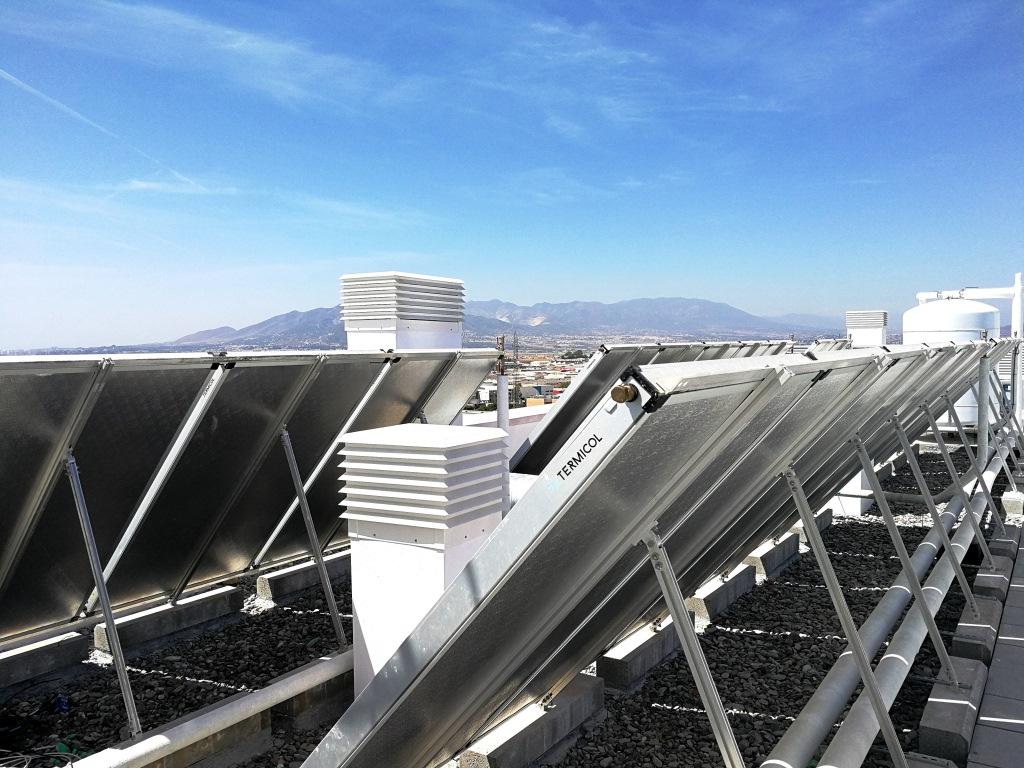 Promoción Solar Térmica de 76 viviendas (Málaga)
