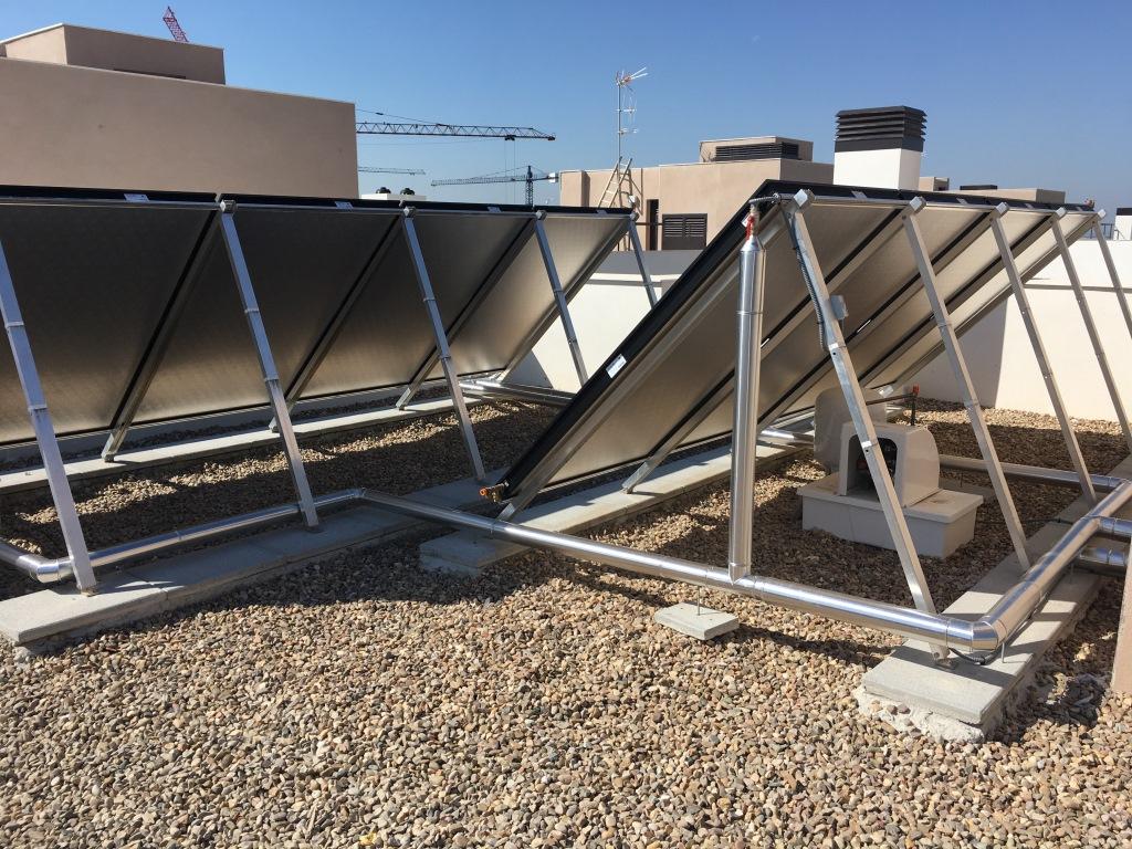 Promoción Solar Térmica de 66 viviendas (Córdoba)