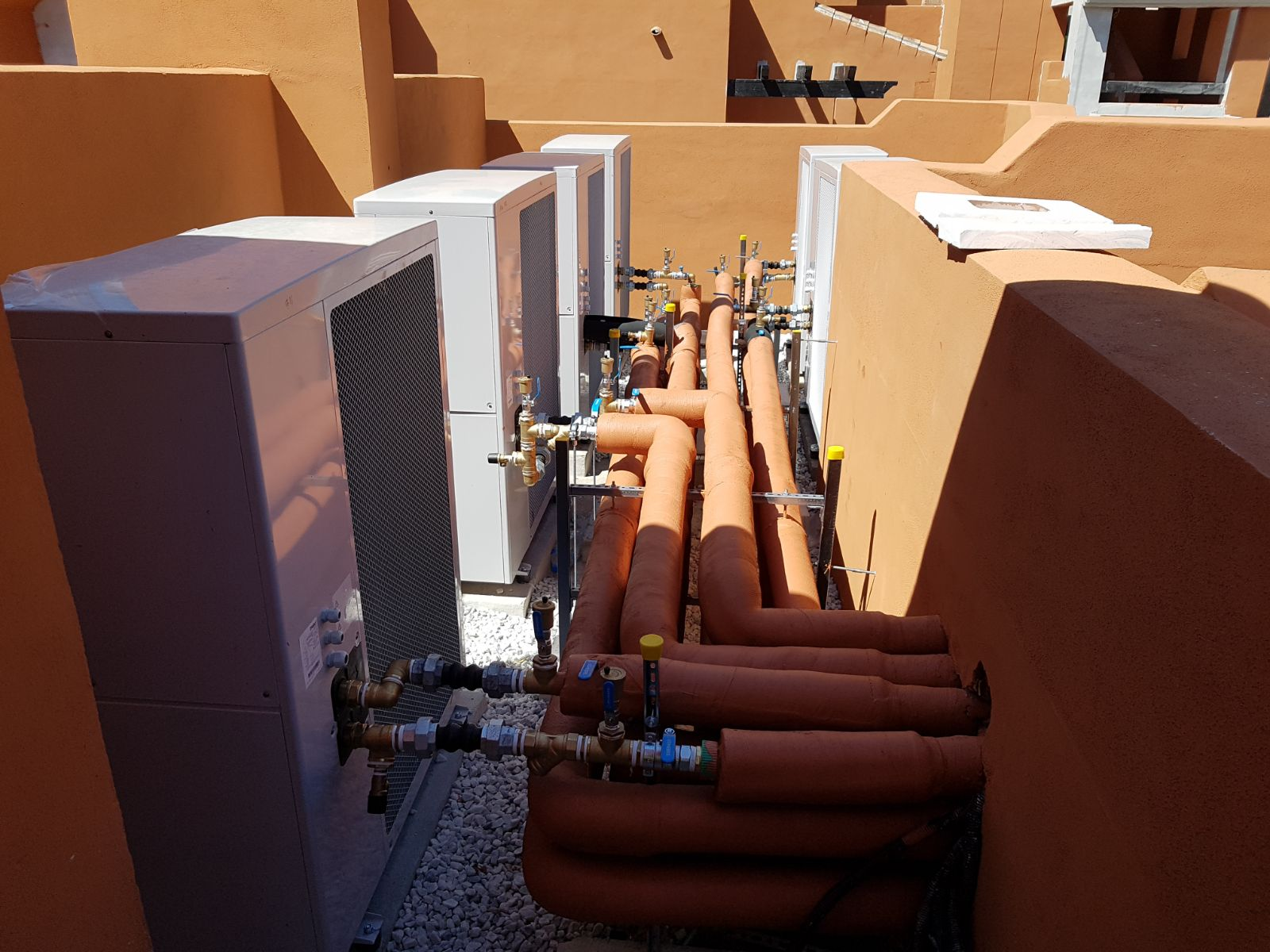 Promoción de Aerotermia para 44 viviendas (Málaga)