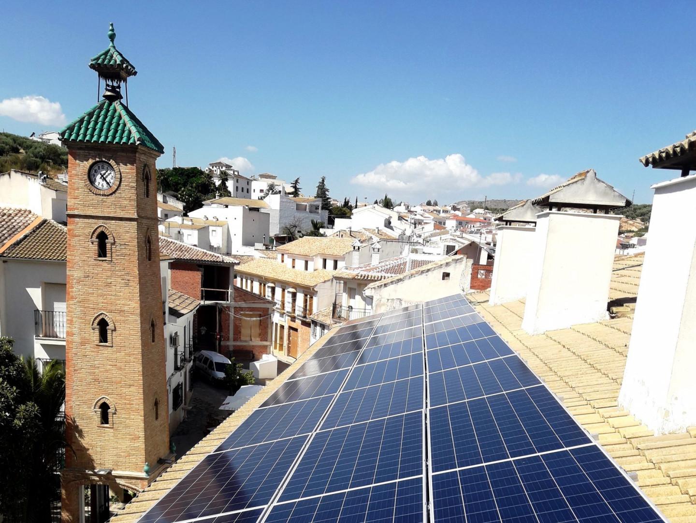 Autoconsumo en Residencia Tercera Edad del Ayuntamiento de Almedinilla, Córdoba