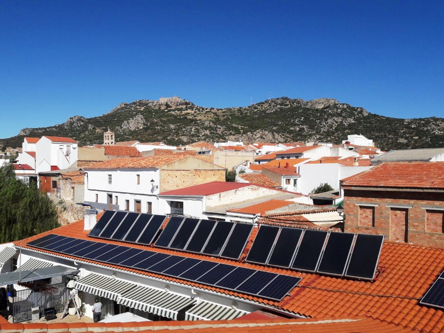 Instalación de Autoconsumo FV en Residencia Tercera Edad de Santa Eufemia, Córdoba