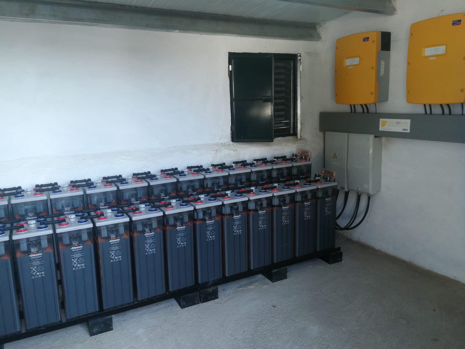 Instalación Fotovoltaica de 10,23kWp con baterías en Villanueva de Córdoba, Córdoba