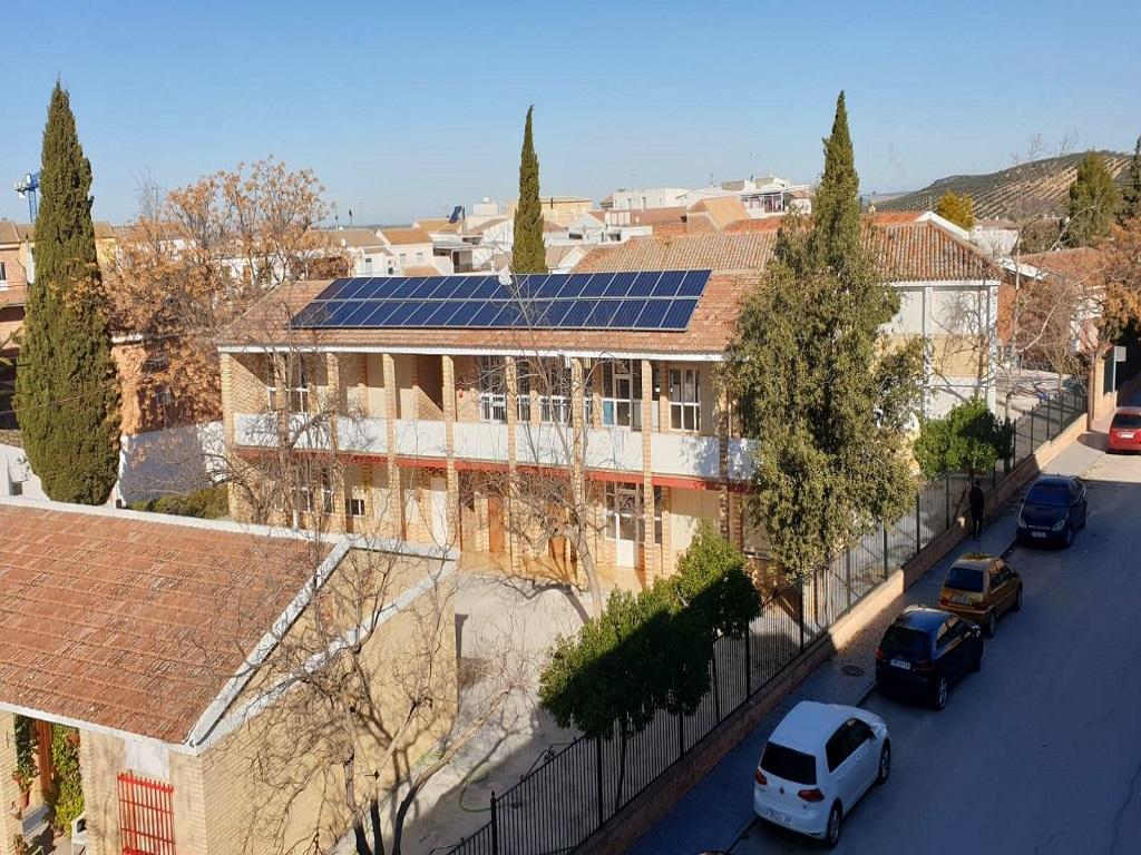 Autoconsumo en CEIP Montealbo del Ayuntamiento de Montalbán, Córdoba