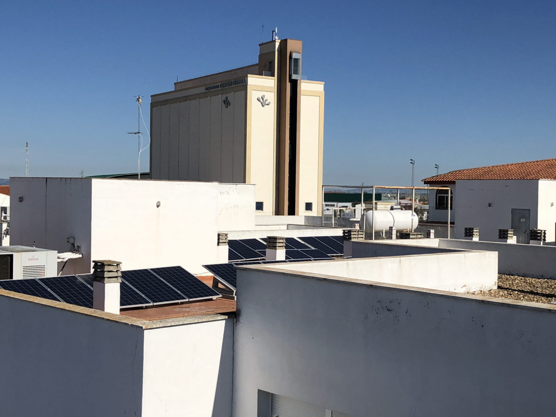 Instalación de Autoconsumo FV de 29,04 kWp en edificios municipales del Patronato ALCAVISE de Alcaracejos, Córdoba