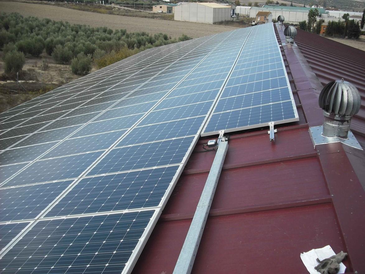Instalación Fotovoltaica de 38,61 kWp para Almazara (Córdoba)