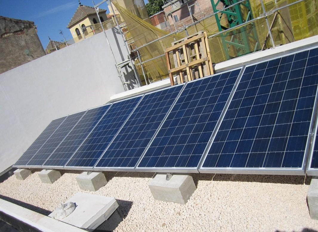 Instalación Fotovoltaica de 2,70 kWp para Centro de Emprendedores (Málaga)