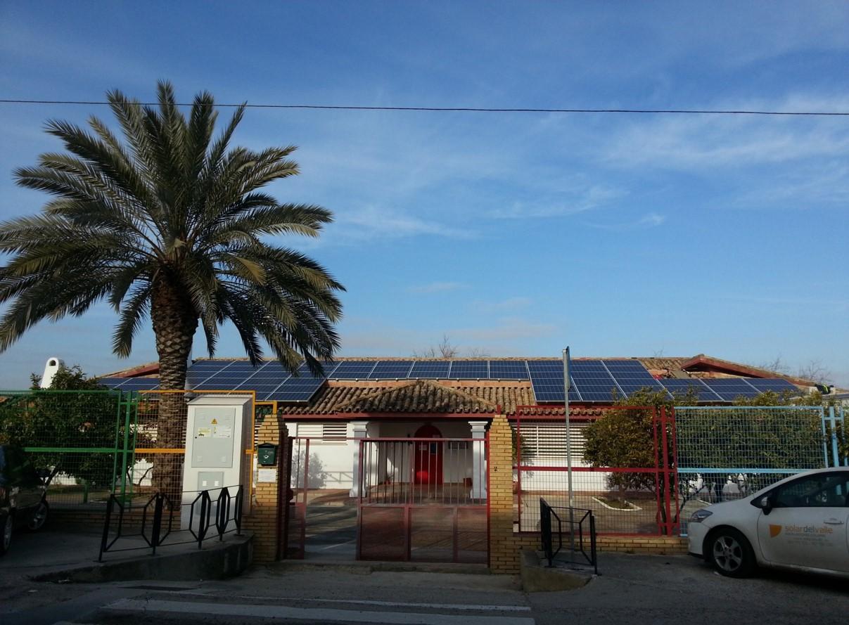 Instalación Fotovoltaica de 22,05 kWp para Guardería (Córdoba)
