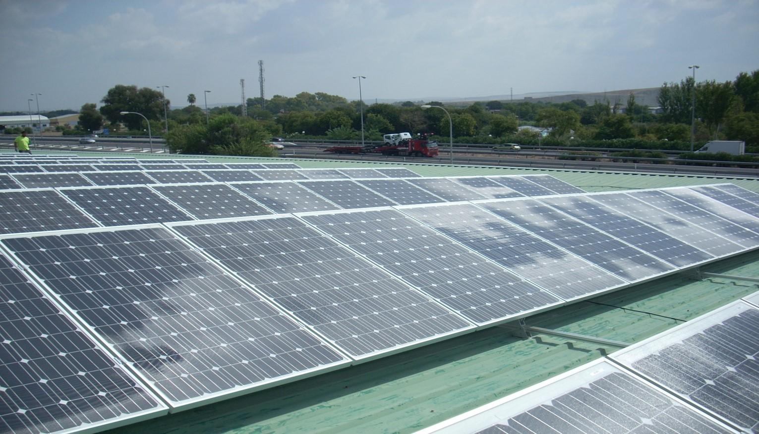 Instalación Fotovoltaica de 128,80 kWp para Mercacordoba (Córdoba)