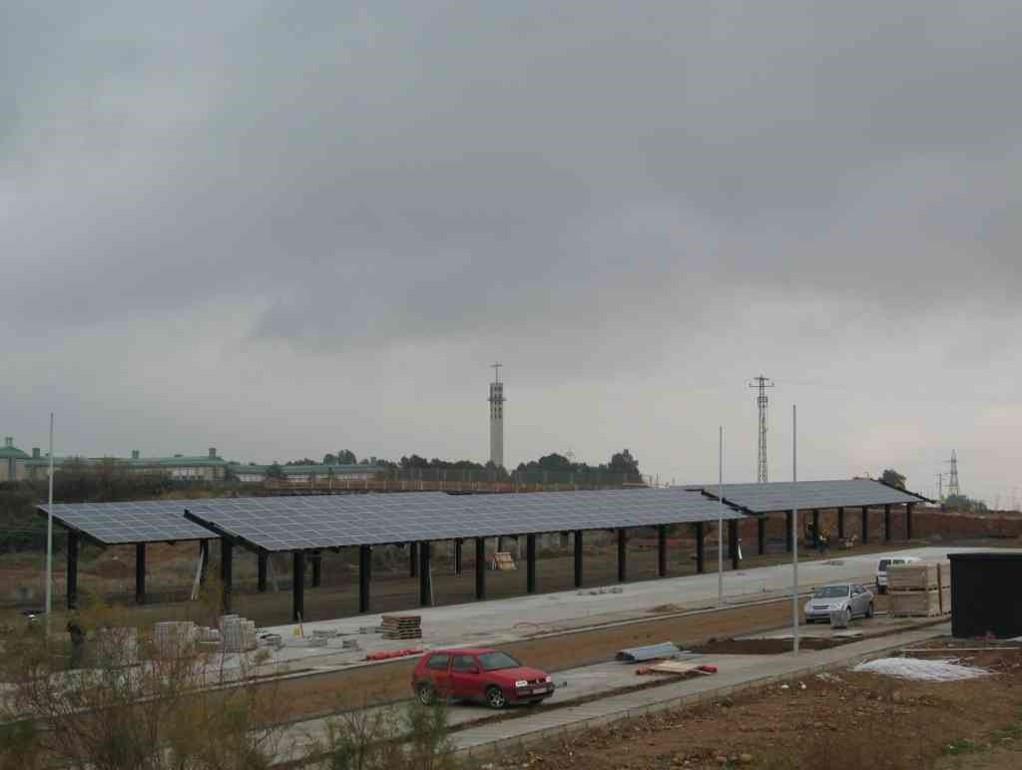 Instalación Fotovoltaica de 71,28 + 106,92 kWp para Parking (Córdoba)