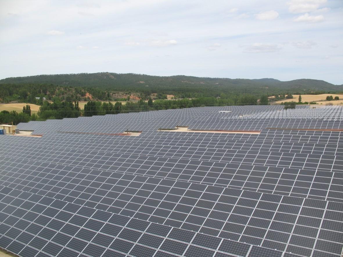 Instalación Fotovoltaica de 3.064,32 kWp para Parque Solar (Cuenca)