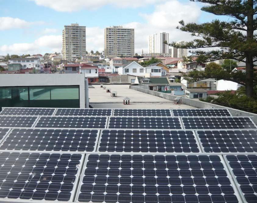 Instalación Fotovoltaica de 4,1 kWp para U.T. (Chile)