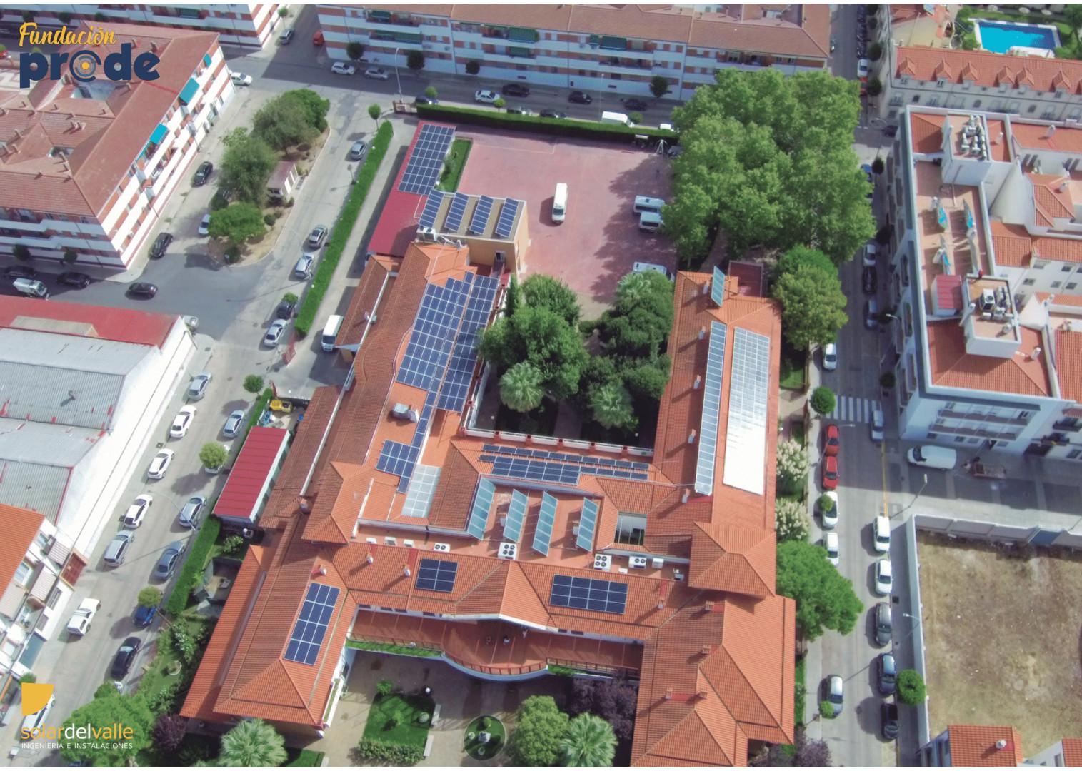 Instalación de Autoconsumo FV de 81,12 kWp en edificio terciario, Fundación PRODE, en Pozoblanco, Córdoba