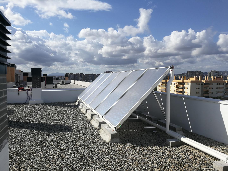 Promoción Solar Térmica para 78 viviendas (Málaga)