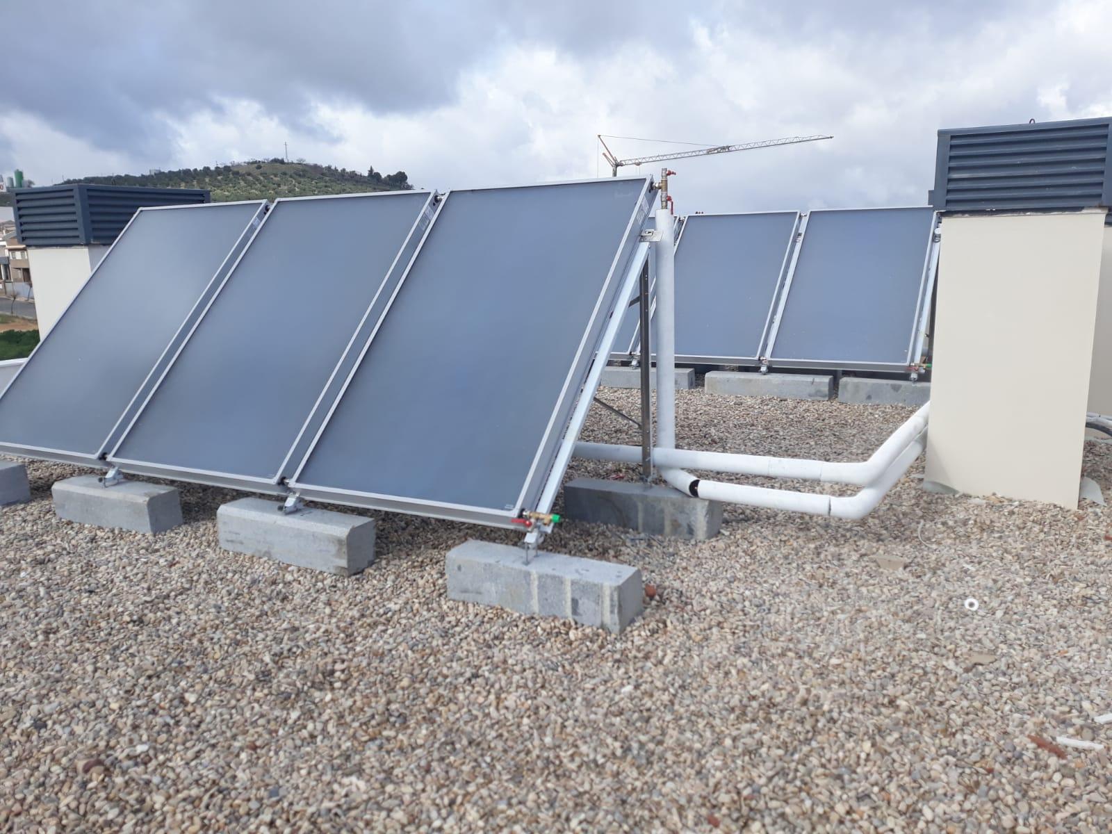 Promoción Solar Térmica para 44 viviendas (Jaén)