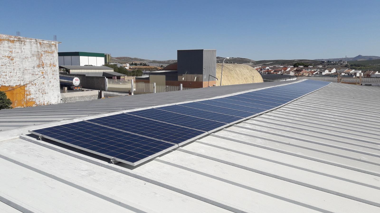 Autoconsumo de 8,71 kWp en Abonos Cassani, Baena, Córdoba