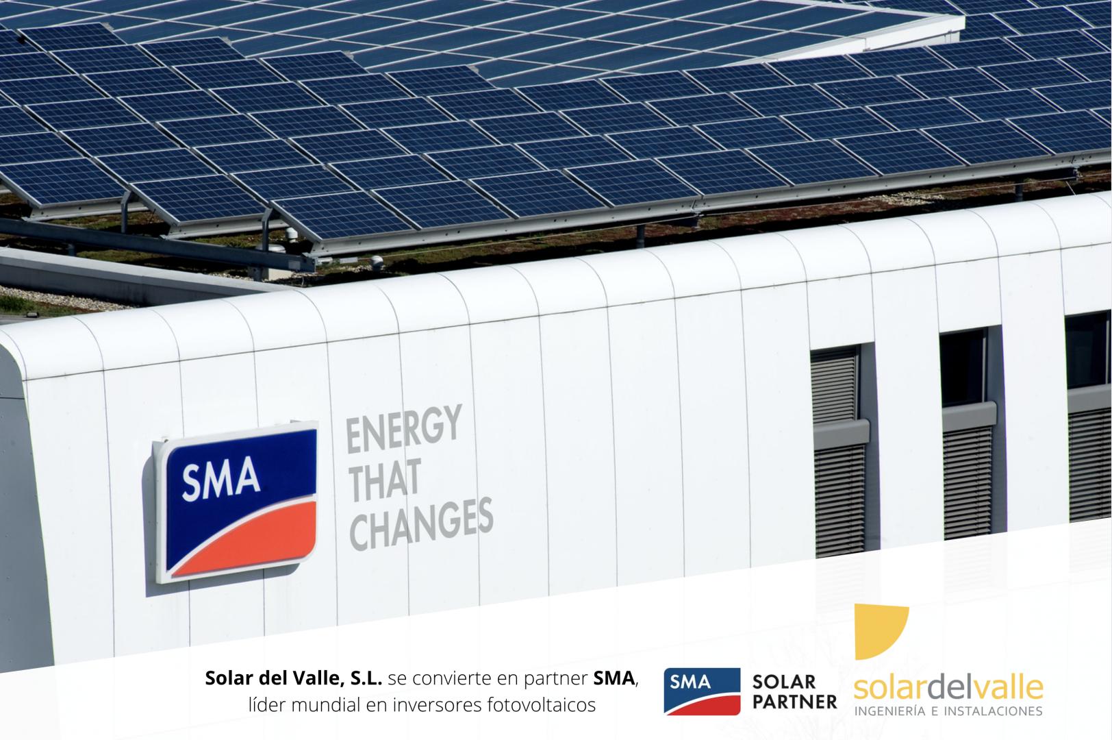 Solar del Valle se convierte en partner SMA, líder mundial en inversores fotovoltaicos